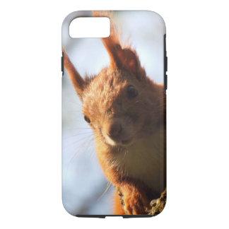 Mamífero del roedor de la ardilla funda iPhone 7