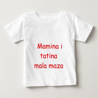 Mamina i tatina mala maza t-shirts