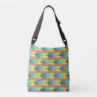Mamluks Fire and Water Pattern Crossbody Bag