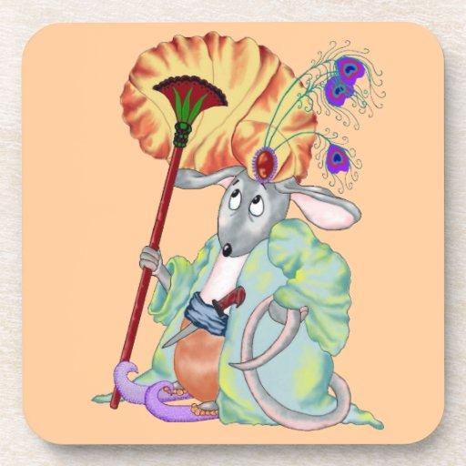 Mamluq Mouse Beverage Coaster