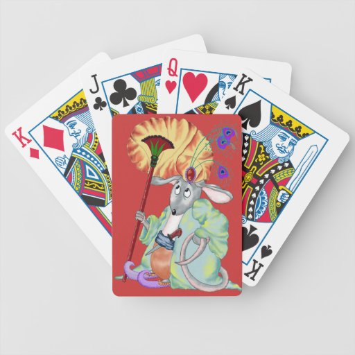 Mamluq Mouse Bicycle Playing Cards
