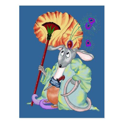 Mamluq Mouse Postcard