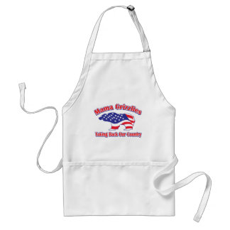 Mamma-Grizzly Adult Apron