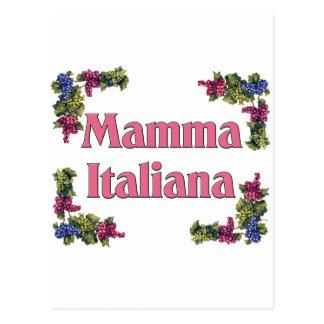 Mamma Italiana Postcard