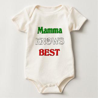 Mamma Knows Best Baby Bodysuit