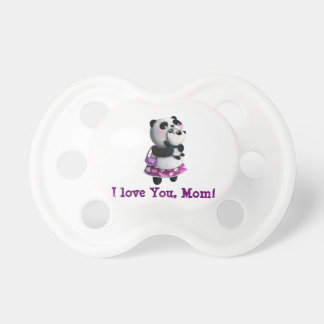 Mamma Panda with her Child Pacifier