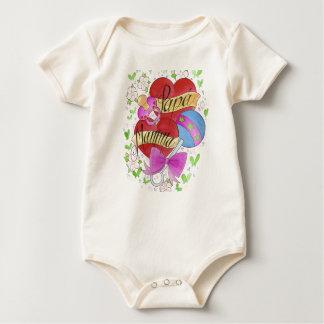 Mamma Papa Baby Bodysuit