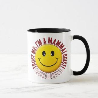 Mammalogist Trust Smiley Mug
