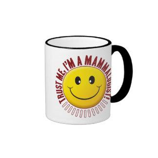 Mammalogist Trust Smiley Ringer Mug