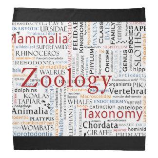 Mammals in Typography Bandana