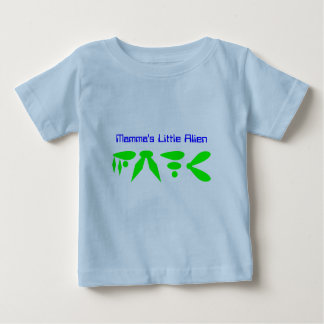 Mamma's Little Alien Baby T-Shirt