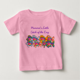 Mamma's Little Catch of the Day T Shirt