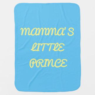 Mamma's little prince blanket