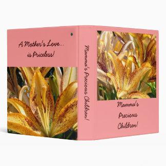 Mamma's Precious Children! Photo Album Scapebook Binder