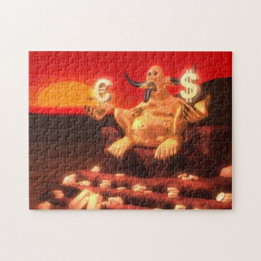 Mammon Demon God of Money Jigsaw Puzzle