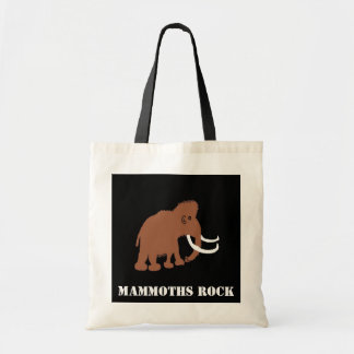 MAMMOTH (2), MAMMOTHS ROCK TOTE BAG