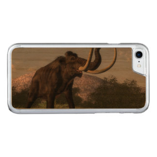 Mammoth - 3D render Carved iPhone 8/7 Case