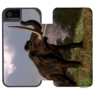 Mammoth - 3D render iPhone SE/5/5s Wallet Case