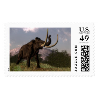 Mammoth - 3D render Postage