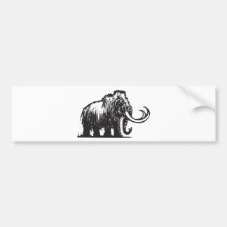 Mammoth Bumper Sticker