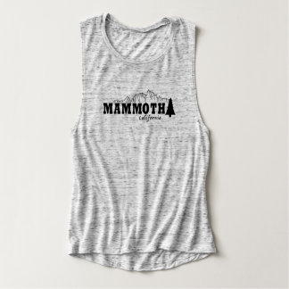 Mammoth, CA - Flowy Muscle Tank