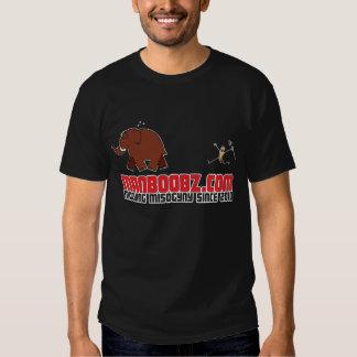 Mammoth Cartoon Dark Shirts
