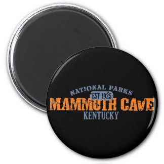 Mammoth Cave National Park 2 Inch Round Magnet