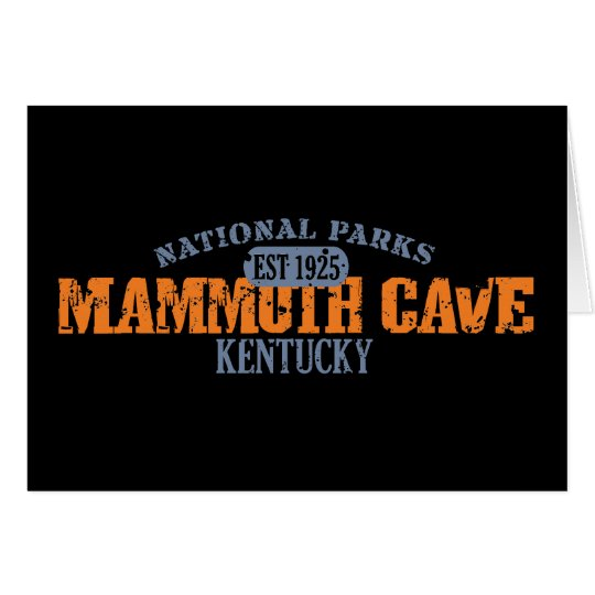 Mammoth Cave National Park Card