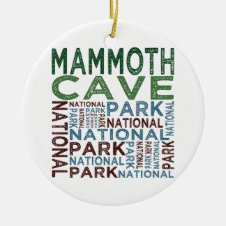 Mammoth Cave National Park Ceramic Ornament