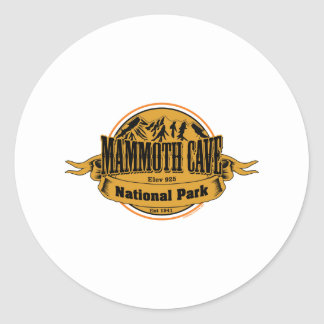 Mammoth Cave National Park, Kentucky Classic Round Sticker