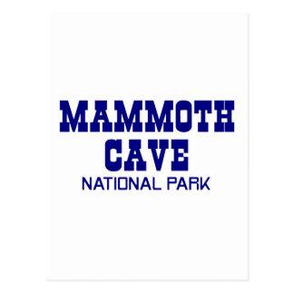 Mammoth Cave National Park Postcard