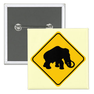 Mammoth Crossing 2 Inch Square Button