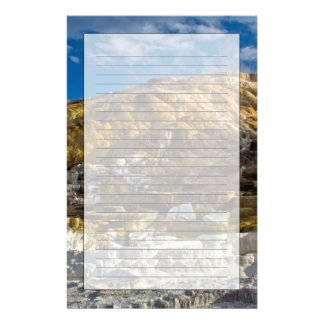 Mammoth Hot Spring Stationery