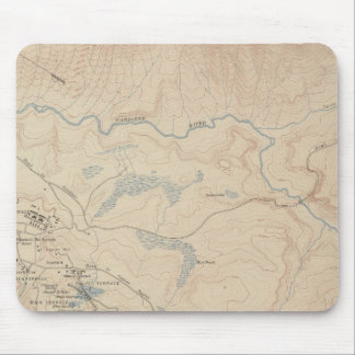 Mammoth Hot Springs and Vicinity 2 Mousepads
