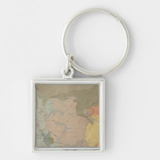 Mammoth Hot Springs and Vicinity Keychain
