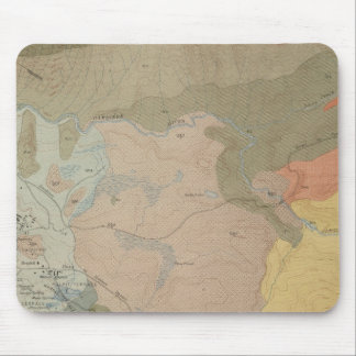 Mammoth Hot Springs and Vicinity Mouse Pads