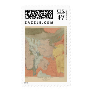 Mammoth Hot Springs and Vicinity Postage