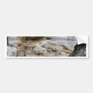 Mammoth Hot Springs Bumper Sticker