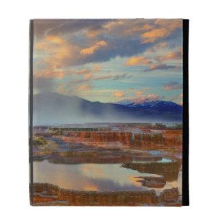 Mammoth Hot Springs iPad Case