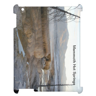 Mammoth Hot Springs iPad Cover