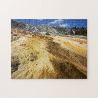 Mammoth Hot Springs Jigsaw Puzzle