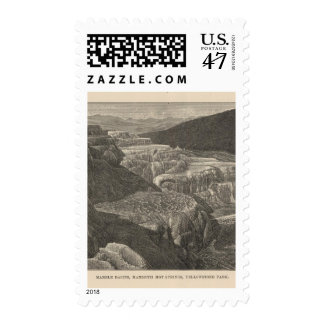Mammoth Hot Springs Postage