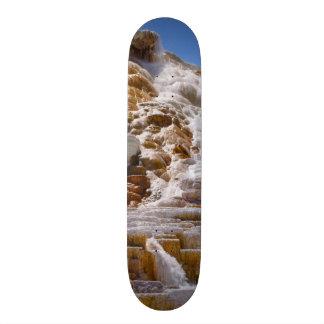 Mammoth Hot Springs Skateboard Deck