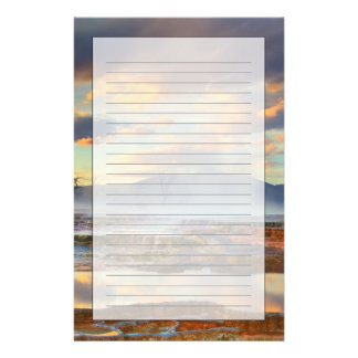 Mammoth Hot Springs Stationery
