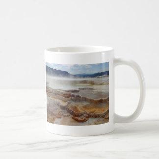 Mammoth Hot Springs Yellowstone Coffee Mug