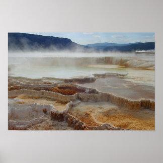 Mammoth Hot Springs - Yellowstone Print