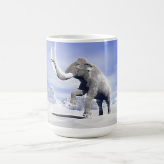 Mammoth in the wind coffee mug