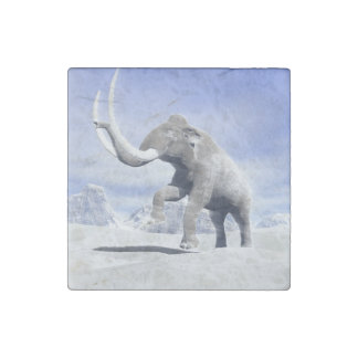 Mammoth in the wind stone magnet