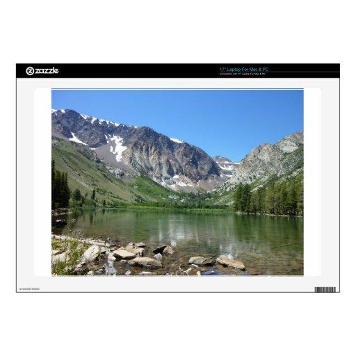 """Mammoth Lake 17"""" Laptop Decal"""