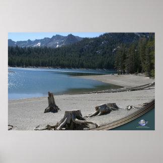 MAMMOTH LAKE BEAUTY POSTER